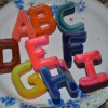 Found it on Pinterest: Recycled Alphabet Crayons