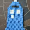 Make a TARDIS with Perler Beads
