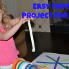 Creating with Tape {Kid Craft}