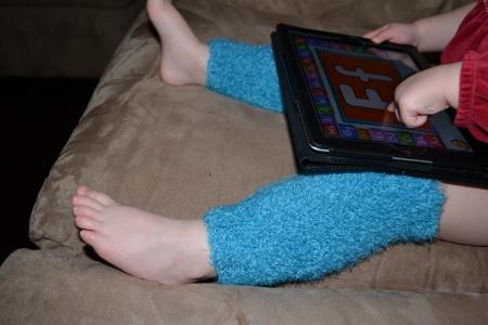 knit legwarmers