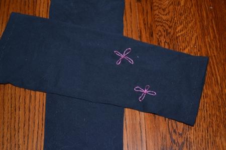 fabric legwarmers