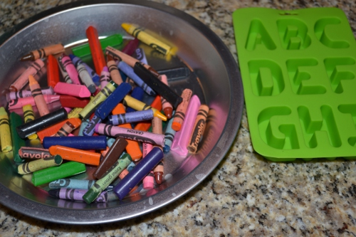 recycled crayon supplies