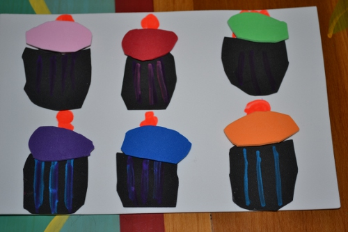 cupcake toddler busy bag