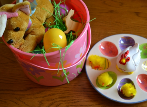 easter bucket discovery