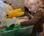 exploring st patricks sensory box
