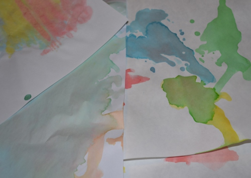 kids watercolors