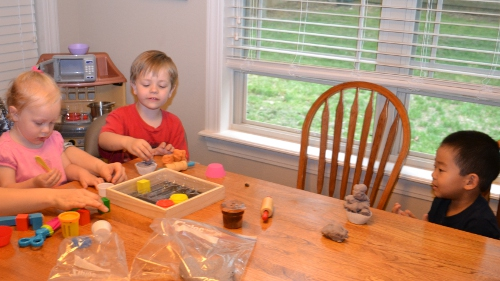 Homemade Playdough is Magic