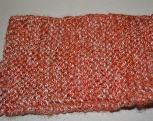 linen garter stitch