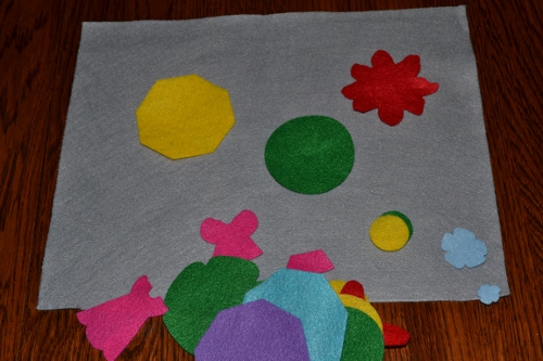 felt board busy bag
