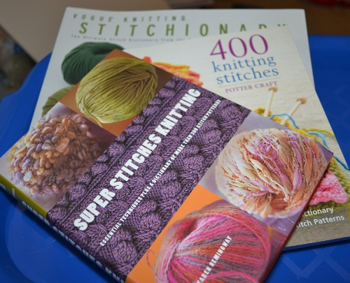 Take 'em Off My Hands: Three Stitch Pattern Books to Give Away!