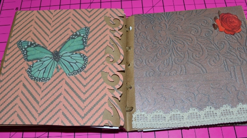 paper bag journal embellishment