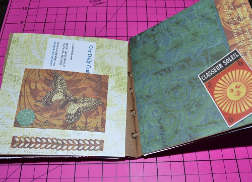 paper bag journal pocket