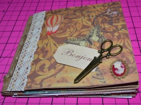 bag journal cover