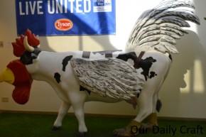 tyson chicken cow