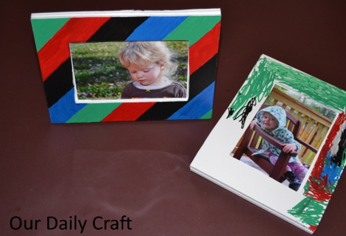 Make Easy Picture Frames for Gifts with Elmer\'s Foam Board - Our ...
