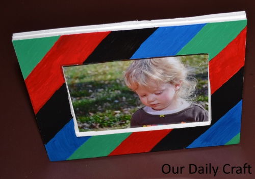 elmers foam board picture frame