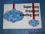 A Super-Easy Holiday Card to Craft