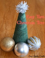 make a yarn tree