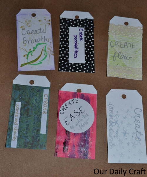 one little word intention cards