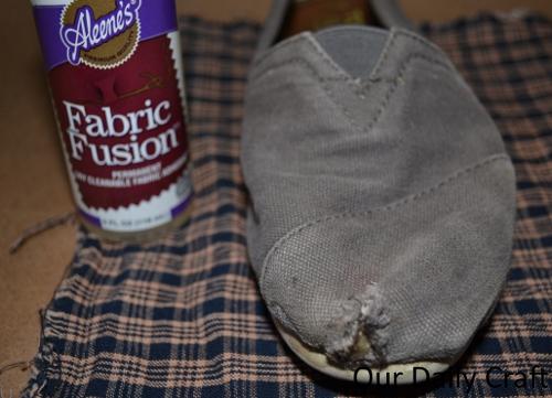 fix canvas shoes supplies