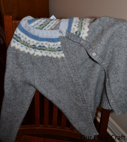 sweater upcycle