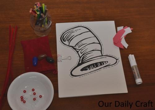 seuss coloring invitation
