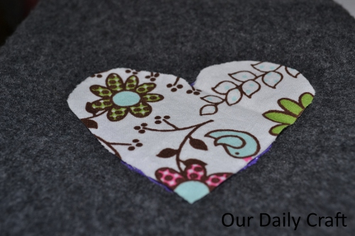 fabric heart option