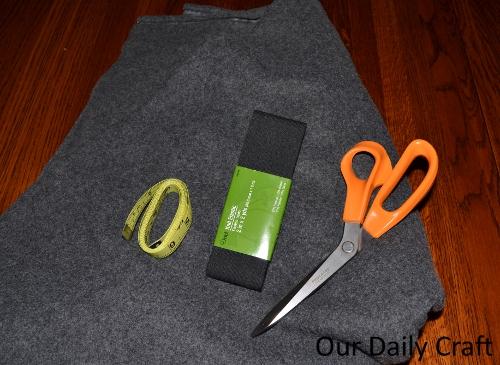 fleece skirt supplies
