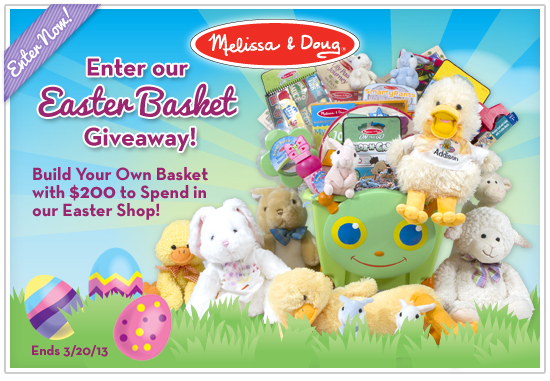 melissa & doug easter contest