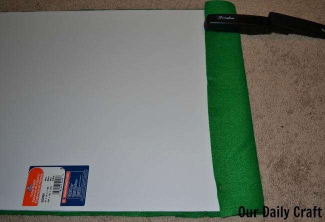 making felt board