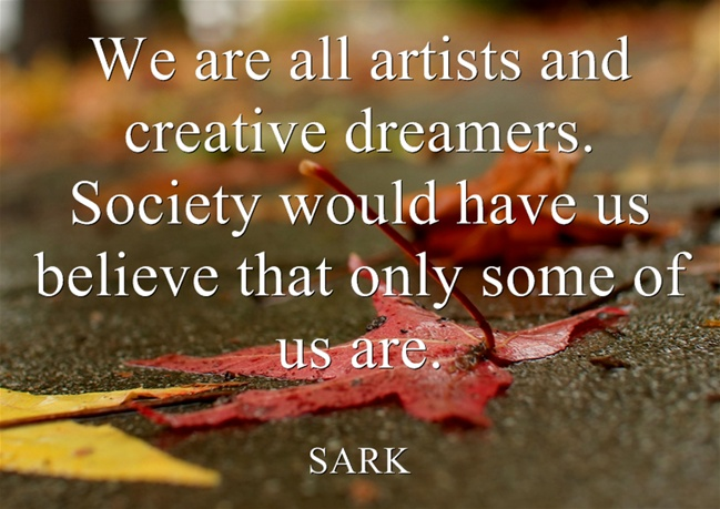 sark quote creativity