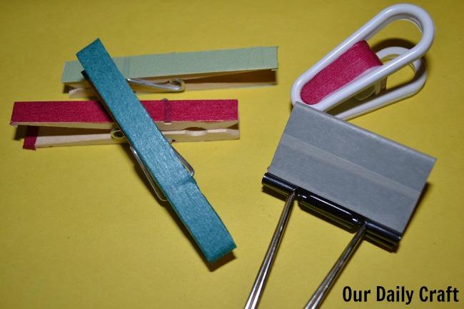 washi clips