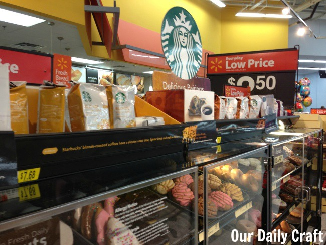 delicious pairings starbucks walmart