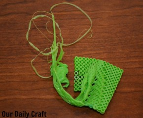 melted perler beads craft fail