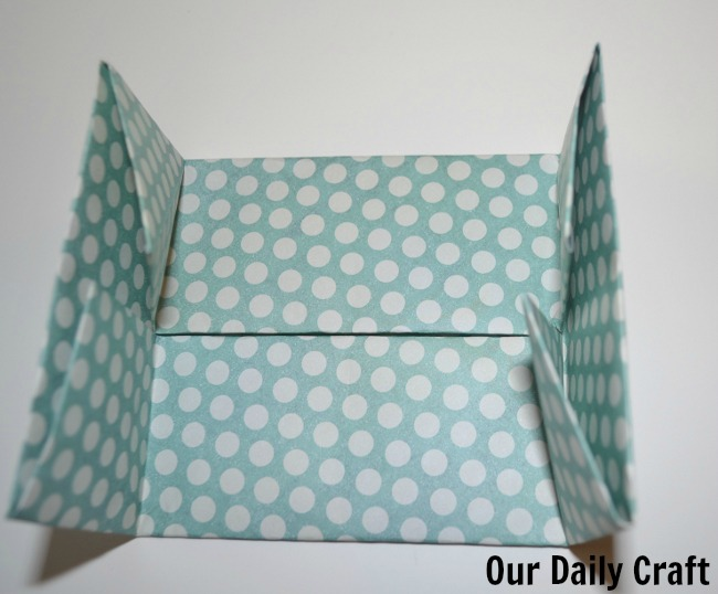 folded edges origami box