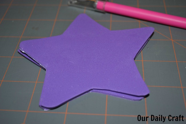 star cutouts fairy wand