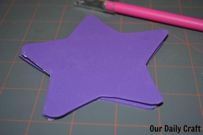 star cutouts fairy wand