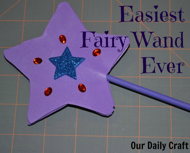 make an easy fairy wand