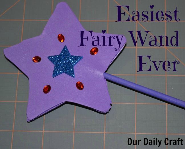 make an easy fairy wand