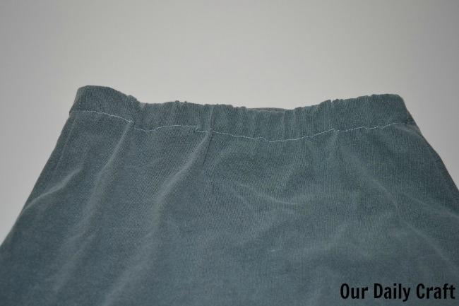 waistband sewing