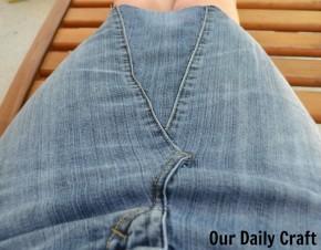 denim skirt mom jeans