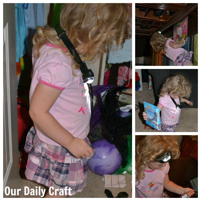 Have an Indoor Treasure Hunt with Help from Energizer Beam Headlights