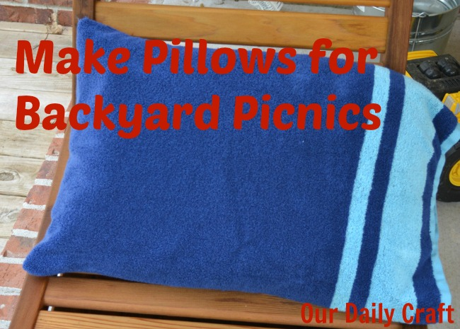 picnic pillows