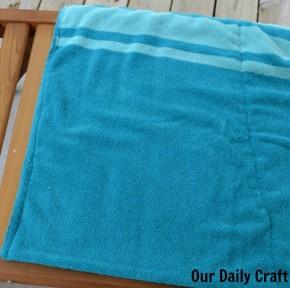 terrycloth pillow case