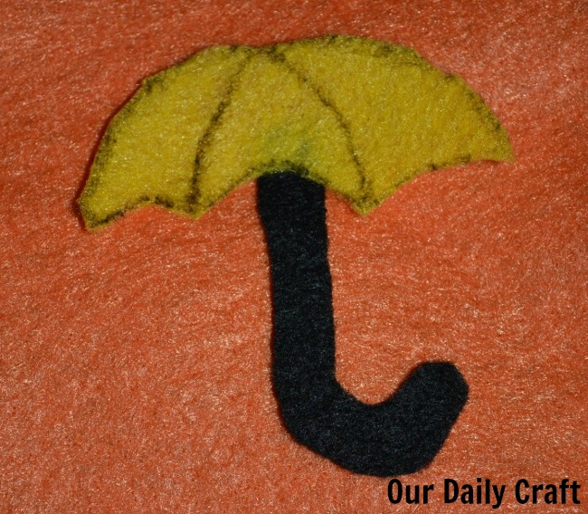 felt umbrella