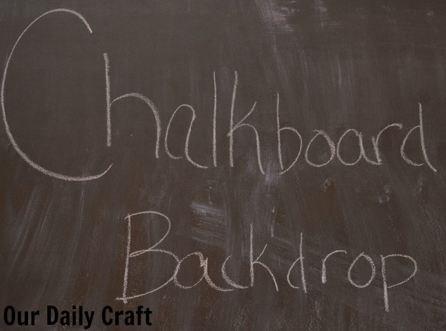 chalkboard backdrop