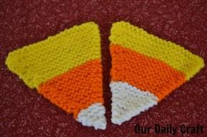 knit candy corn