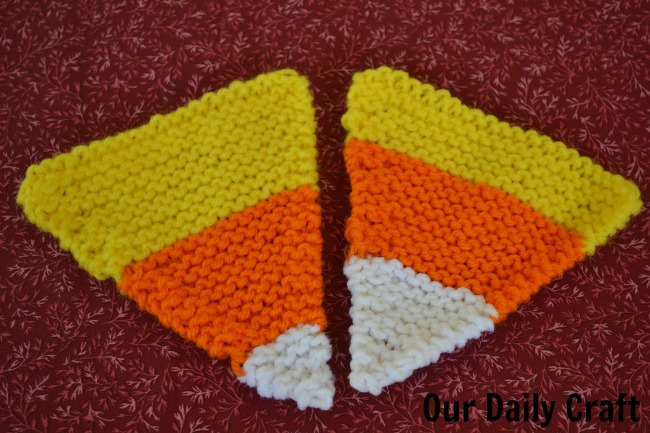 knit candy corn
