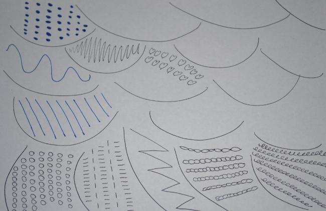 desk doodle