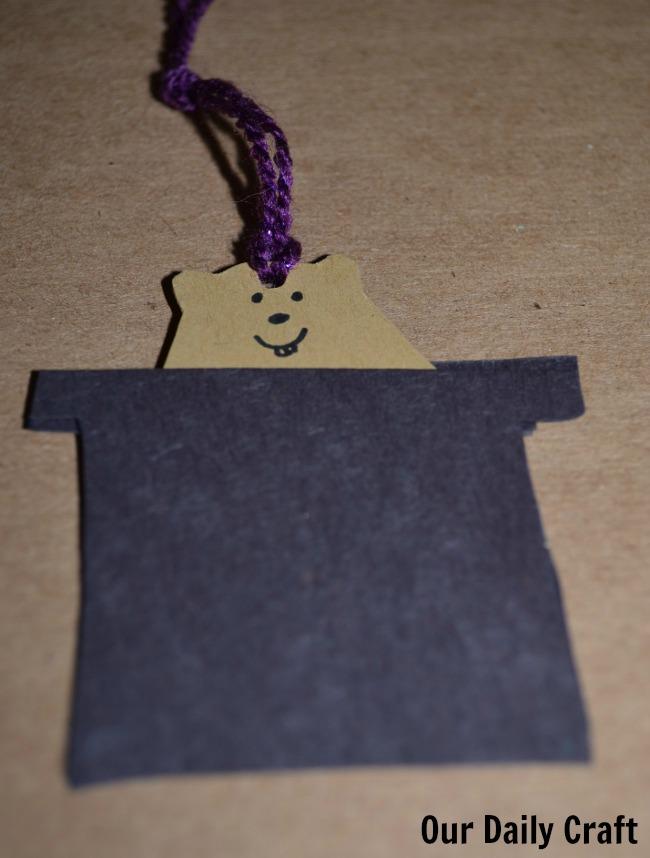 groundhog gift tag